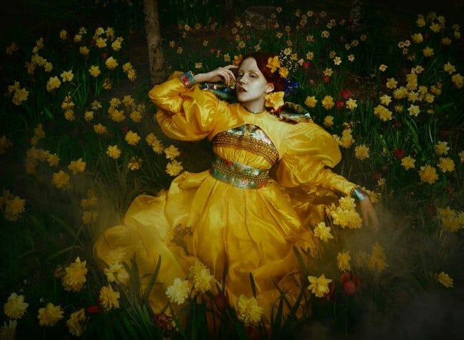 "Photograph by Mikaela Holmberg. ""Secret's of Iris"" [Digital Photography, Sony a7r III, Profoto B10 light]"