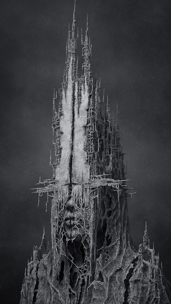 "Digital 3 Dimensional artwork by Tomasz Strzalkowski. ""Monument"" [Digital 3 Dimensional, Zbrush, Keyshot, Photoshop, Wacom Cintiq]"
