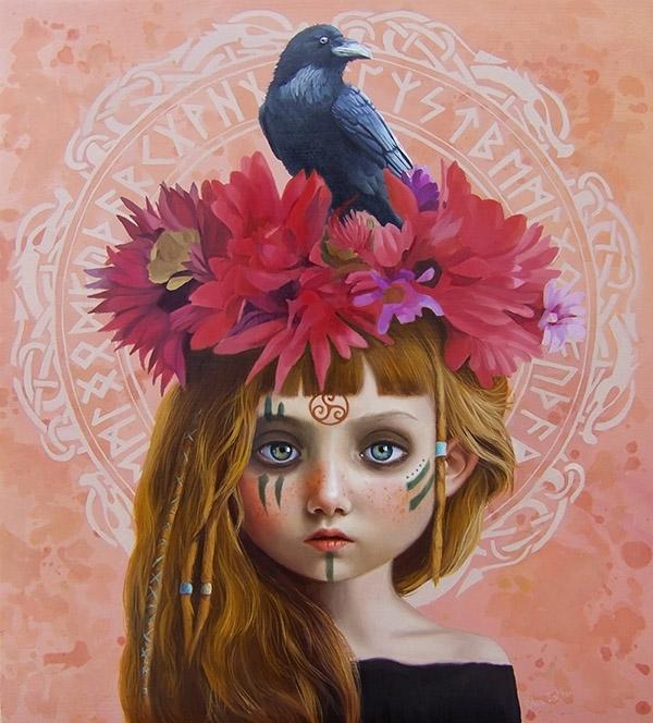 Olga Esther - Beautiful bizarre magazine exhibition ritual