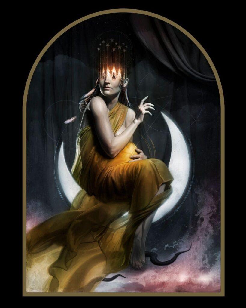 David Seidman - Woman Apocalypse - Digital painting